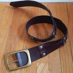 Linea Pelle Leather Belt